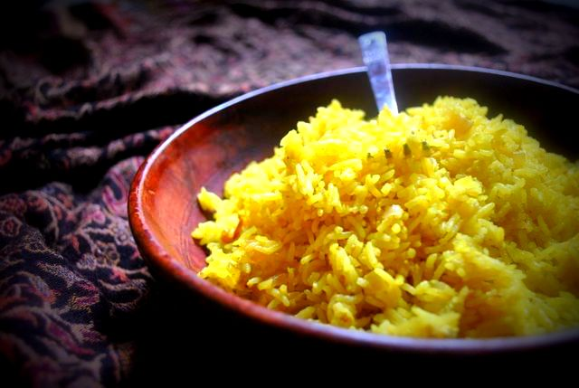 rice with palm oil recipe